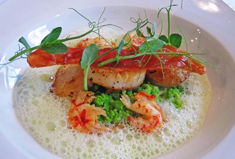 scallops-pea-puree