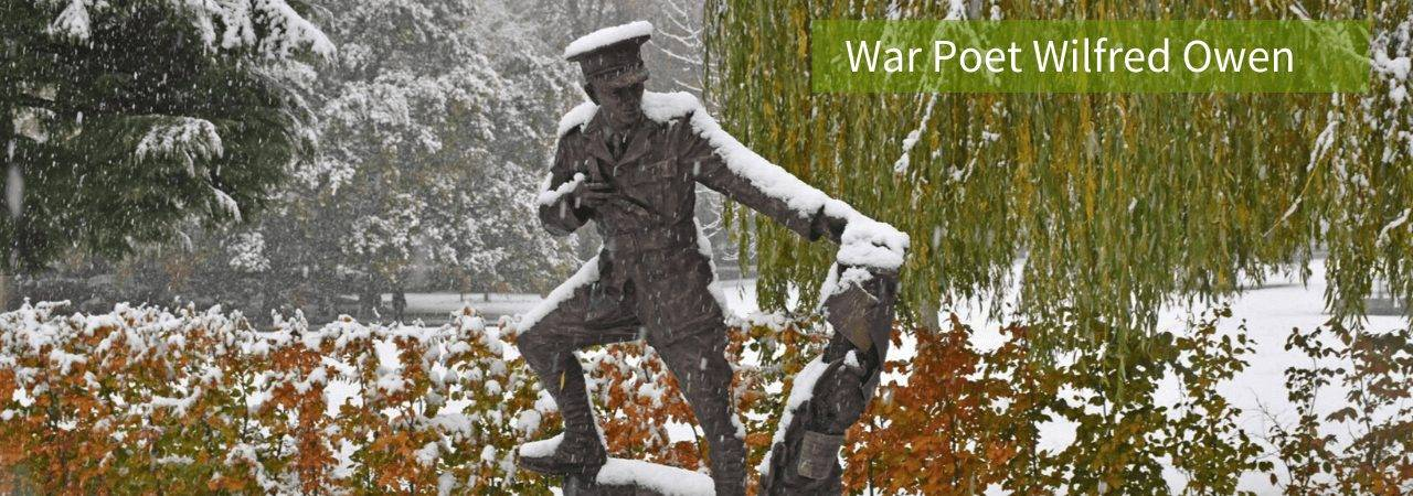 Wilfred Owen in Snow