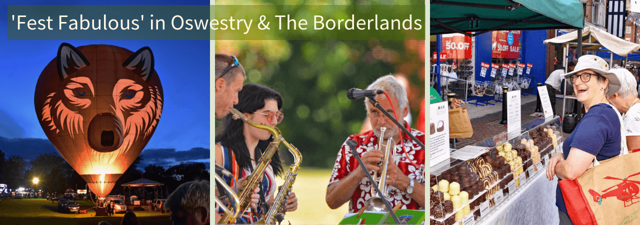 Arts & Events in Oswestry & The Borderlnds