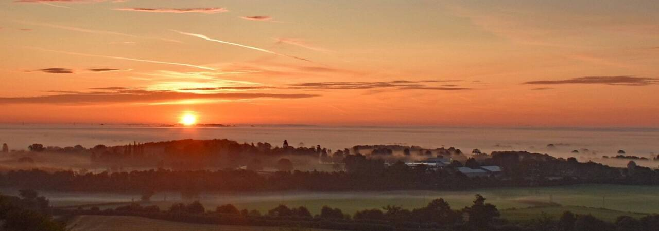 Dawn over Oswestry