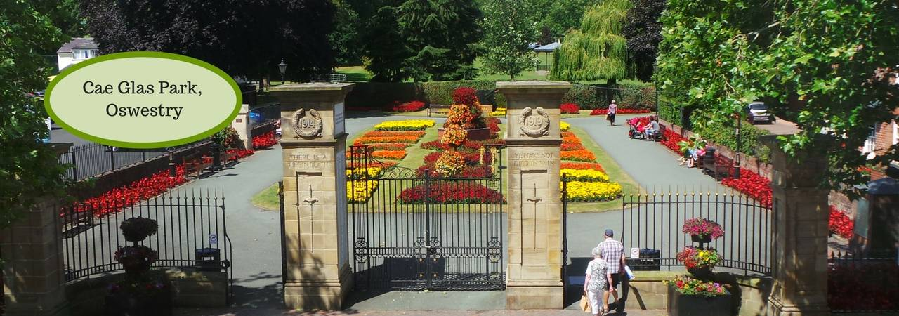 Memorial Gates, Oswestry