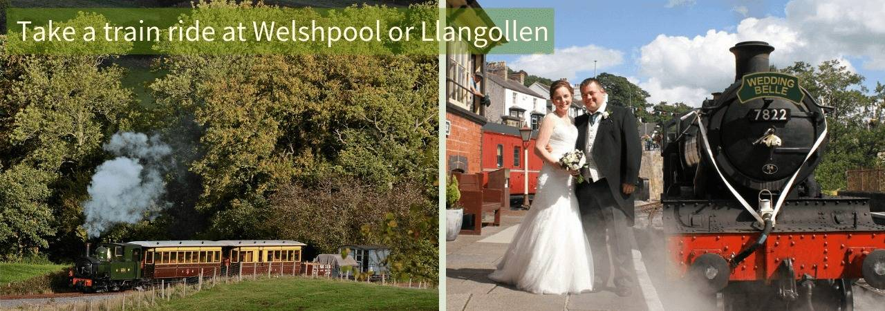Llangollen and Welshpool Railways